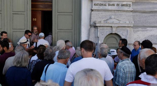 Lange Warteschlangen in Griechenland: Nach drei Wochen öffnen am Montag, 20. Juli, die Banken wieder.