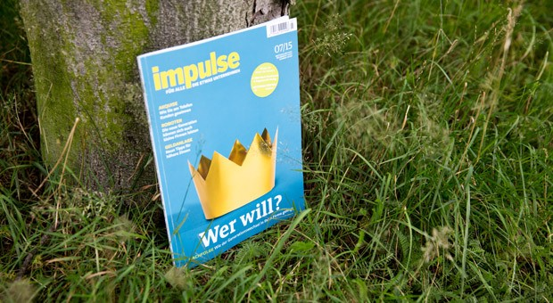 Die Juli-Ausgabe von impulse.