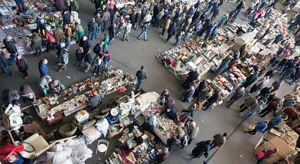 Früher versammelten sich Händler auf dem Marktplatz, heute sollen virtuelle Marktplätze helfen, neue Kunden zu gewinnen.