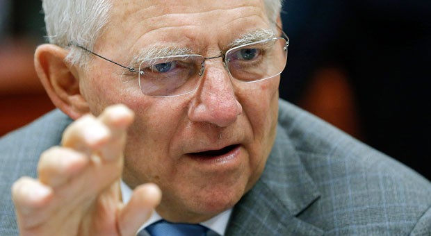 Bundesfinanzminister Wolfgang Schäuble -  wegen der Erbschaftsteuerreform der Buhmann für viele Unternehmer.