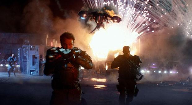 """""""I'm old, not obsolete"""": Arnold Schwarzenegger gibt in """"Genisys"""" einmal mehr den """"Terminator""""."""