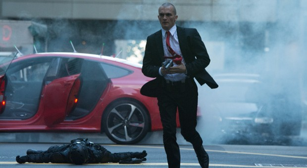 Rupert Friend im Actionfilm  Hitman: Agent 47.