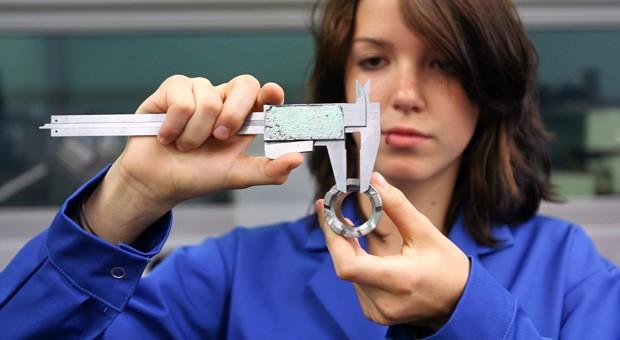 Eine von 1,2 Millionen: 85 Prozent der Azubis absolvieren ihre Berufsausbildung in einem mittelständischen Betrieb.