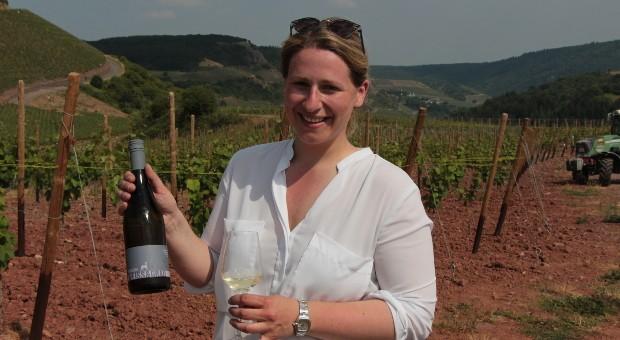 """Christiane Koebernik hat """"Bock auf Wein"""" und gleich ihre erste eigene Weinlinie so benannt."""