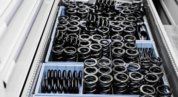 Ersatzteile bei Audi: Für solche Federn gilt kein Designschutz. Bei Kotflügeln und Motorhauben sieht es anders aus.