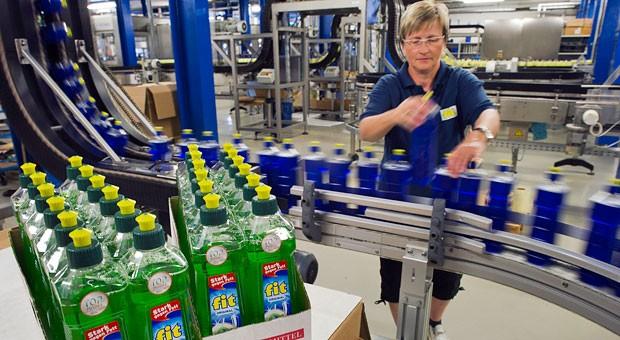 In der DDR deckte Fit rund 85 Prozent des gesamten Spülmittelbedarfs ab. Heute ist Fit auch im Westen Deutschlands bekannt.