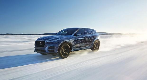 Die Autohersteller präsentieren auf der IAA in Frankfurt wieder ihre neuesten Modelle. Eines der Highlights: der neue F-Pace von Jaguar.
