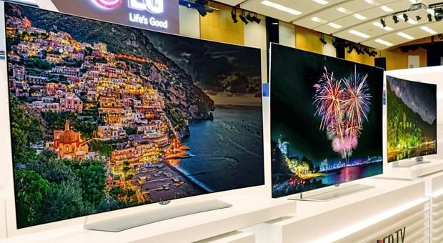 Brillante Farben und perfektes Schwarz verspricht LG für seine neuen OLED-Displays.