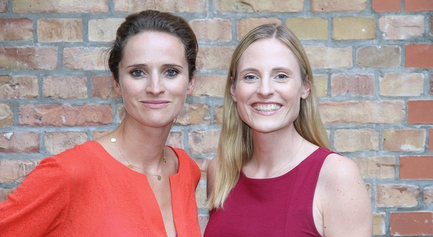 """Gemeinsam mit der Unternehmerin Verena Pausder (links) hat Marie-Christine Ostermann die Initiative """"Startup Teens"""" gegründet."""