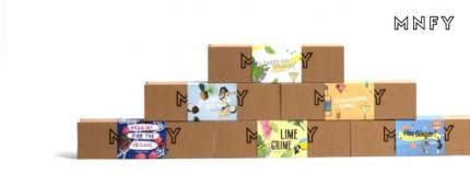In diesen Verpackungen werden die Muffins verschickt.