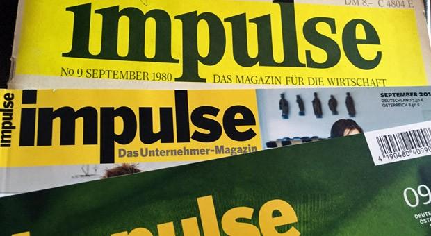 impulse-Ausgaben aus 35 Jahren: Was bedeutet Ihnen impulse?