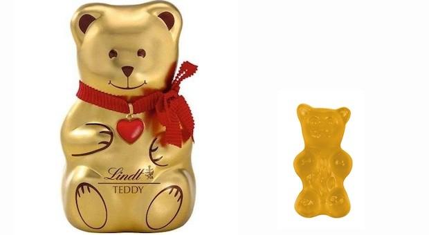 Goldbären unter sich: Die Produkte von Lindt und Haribo sind unverwechselbar, urteilte der BGH.