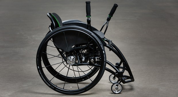 So sieht der dynamische Rollstuhl von Desino aus.