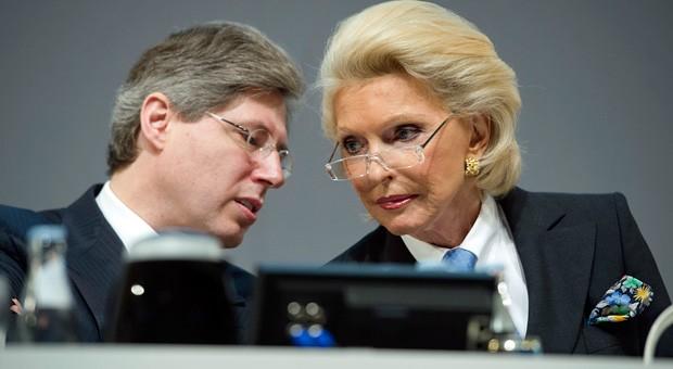 Erkennen Sie diesen Mann und diese Frau? Es sind Maria-Elisabeth Schaeffler-Thumann und ihr Sohn Georg - 25 Milliarden Euro schwer.