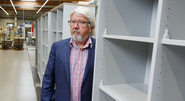 Uwe Blaumann hat die Mecklenburger Firma Palmberg von einer DDR-Ruine zu einem der größten Büromöbelhersteller Deutschlands gemacht.
