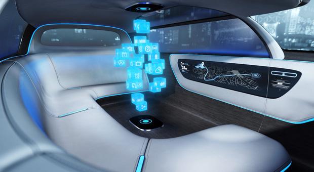 Mercedes studie sehen so die autos der zukunft aus impulse for Innenraum design app