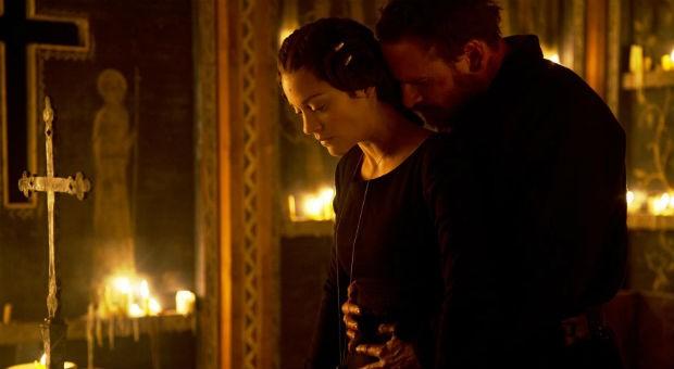 MacBeth (Michael Fassbender) und seine intrigante Ehefrau (Marion Cotillard).
