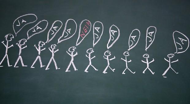 Ja oder Nein - dieser Kundenentscheidung muss sich jeder Unternehmer bei der Akquise stellen. Von Niederlagen sollte man sich nicht entmutigen lassen, findet Vanessa Weber.