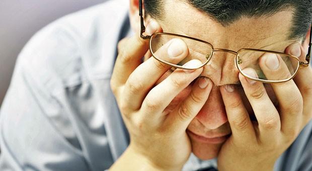 Erschöpft, antriebslos,  verzweifelt: Die meisten Arbeitnehmer, die 2014 wegen psychischer Probleme krankgeschrieben waren, fehlten wegen Depressionen.