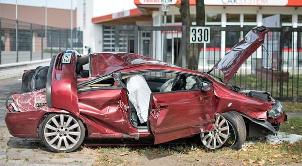 Laut einer aktuellen Statistik passieren in Berlin besonders viele Verkehrsunfälle.