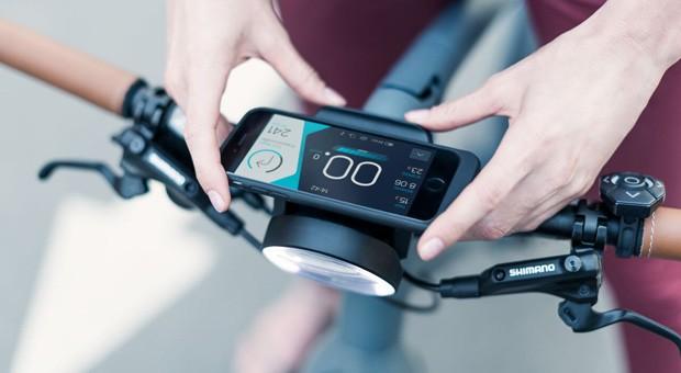 Cobi ist das erste patentierte System für Fahrräder, das Hard- und Software verbindet.