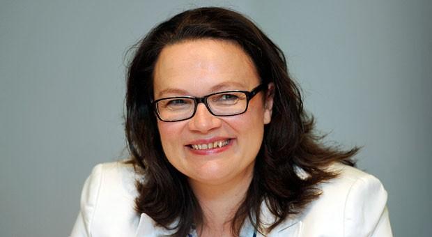 Will Leiharbeit auf 18 Monate begrenzen: Bundesarbeitsministerin Andrea Nahles.