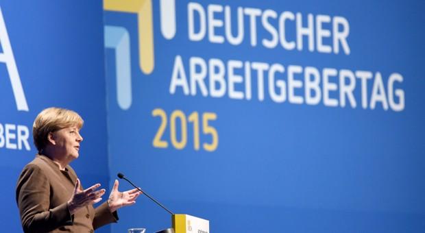 """Bundeskanzlerin Angela Merkel:  """"Es scheint unstrittig zu sein, dass das, was jetzt vorgelegt wurde über den Koalitionsvertrag hinausgeht."""""""