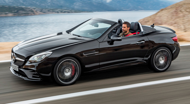 Mercedes SLC 2016: Neuer Mercedes-Roadster: Das steckt im SLK ...