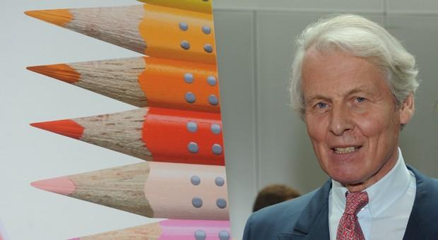 Anton-Wolfgang Graf von Faber-Castell leitete den Stiftehersteller in der achten Generation und seit fast 40 Jahren. Das Bild zeigt ihn anlässlich des 250. Firmenjubiläums im Jahr 2011.