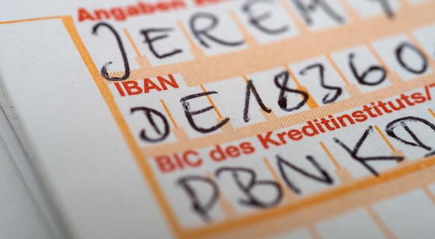 Ab dem 1.Februar 2016 ist für alle Bankkunden die neue IBAN Pflicht.