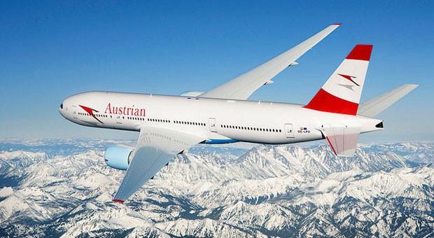Einer der vier europäischen Airlines in den Top Ten ist Austrian Airlines. 89,28 Prozent der Flüge kamen pünktlich an, das ist Platz sieben im Ranking.