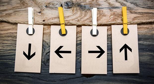 In welche Richtung soll's gehen? Zielvereinbarungen geben Mitarbeitern Orientierung für den Arbeitsalltag und spornen sie an.