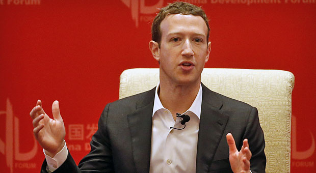 """Ein sicheres Passwort ist anders: Facebook-Chef Mark Zuckerberg loggte sich Hackern zufolge mit """"dadada"""" bei LinkedIn, Twitter und Pinterest ein."""