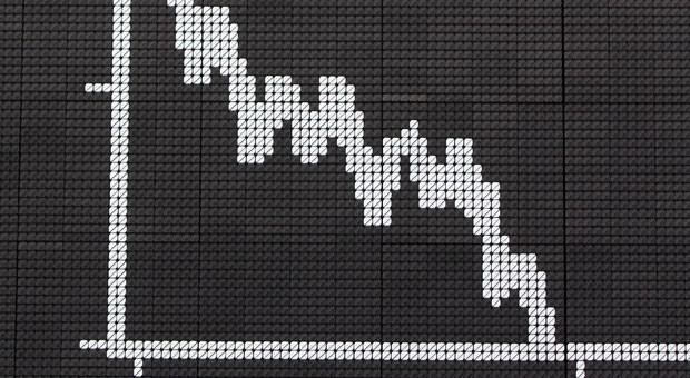 Auf Talfahrt: Die sinkenden Kurse machen viele Anleger nervös.