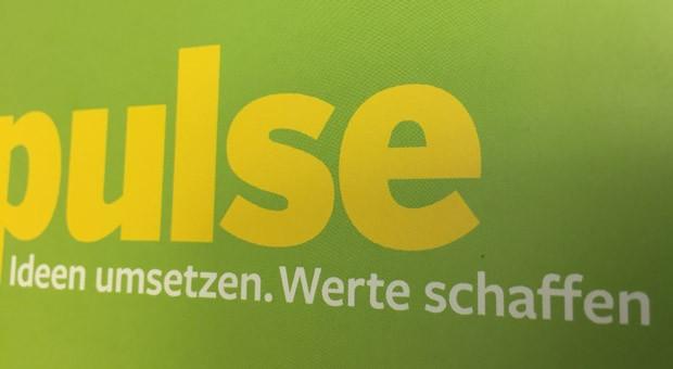"""""""Ideen umsetzen, Werte schaffen"""": So lautet der neue Slogan von impulse."""
