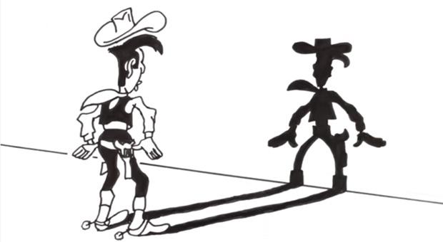 Kann ein Cowboy wirklich schneller schießen als sein Schatten?