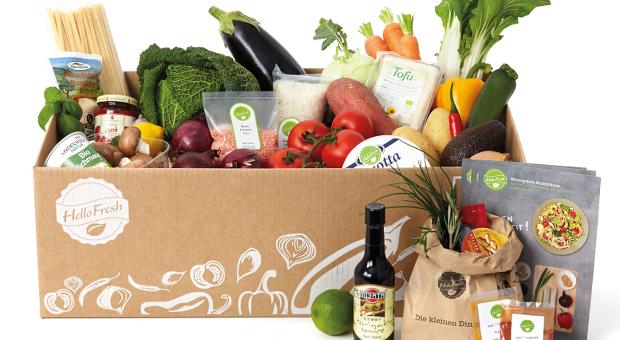 Das Food Start-up HelloFresh liefert frische Zutaten und Rezepte direkt vor die Haustür.