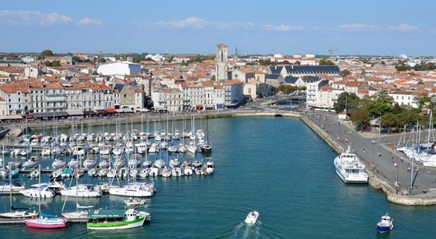 Der Jachthafen von La Rochelle ist mit 4700 Liegeplätzen einer der größten der Welt.
