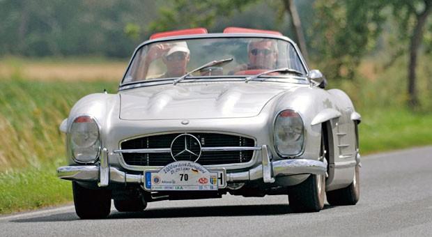 Rollende Geldanlage: Der Mercedes-Benz 300 SL ist laut VDA-Index der Oldtimer mit dem höchsten Wertzuwachs in den vergangenen 16 Jahren.