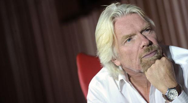 Unternehmer und Selfmade-Milliardär Richard Branson