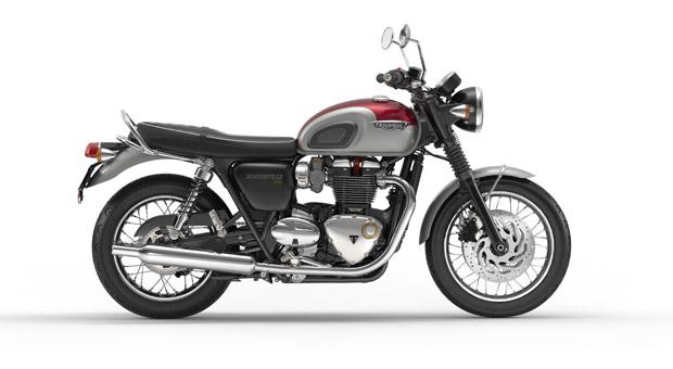 Triumph Setzt Voll Auf Retro Und Renoviert Die Classic Modelle Neu Sind Bonneville T120 Bild Black Mit Neuem Wassergekuhlten 1
