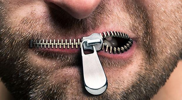 Als wären ihre Lippen versiegelt: Manche Sätze hört man niemals aus dem Mund erfolgreicher Unternehmer.
