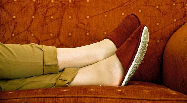 Die Füße hochlegen? Muss auch mal sein - für die Work-Life-Balance. Wer jedoch wirklich erfolgreich sein will, sollte den Mut haben, seine Komfortzone auch mal zu verlassen.