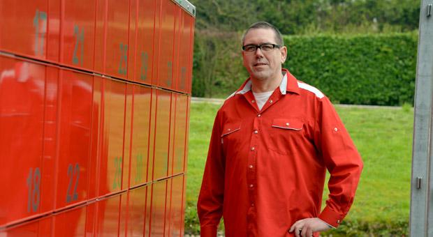 Peter Klassen ist der bundesweit erste Metzger, der eine Schließfachanlage mit der Möglichkeit zur individuellen Bestellung hat.