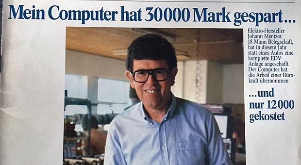 """impulse-Cover aus dem Herbst 1980: Damals war das Fax noch eine Rarität und PCs waren """"jetzt billig wie Autos""""."""