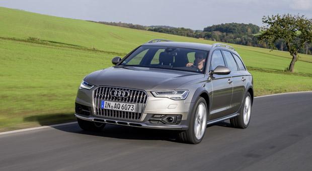 Beliebte Chefkutsche: Der 42 Prozent der deutschen Geschäftsführer entscheiden sich für einen Audi, die meisten für einen A6.