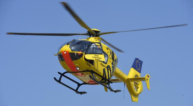 Nicht bei jeder privaten Unfallversicherung dabei: die Bergung mit dem Rettungshubschrauber.