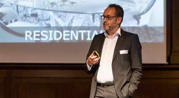 Michael Ganter erklärte auf der impulse-Konferenz wie er also Newcomer an Top-Referenzen gelangte.