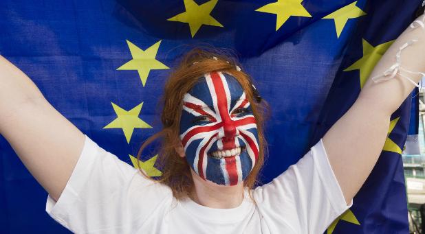Hitzig werden in Großbritannien die Debatten für und gegen den Brexit geführt. Am Donnerstag wird die Entscheidung gefällt.