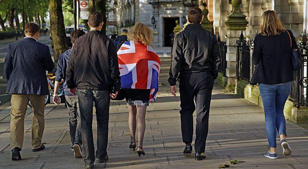 Sie kehren Europa den Rücken: Die britische Bevölkerung hat sich für den Austritt aus der EU entschieden.
